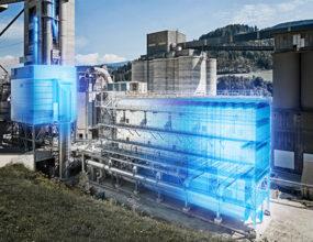 Scheuch hot gas filter