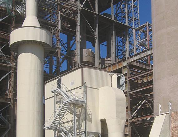 Scheuch gas conditioning tower
