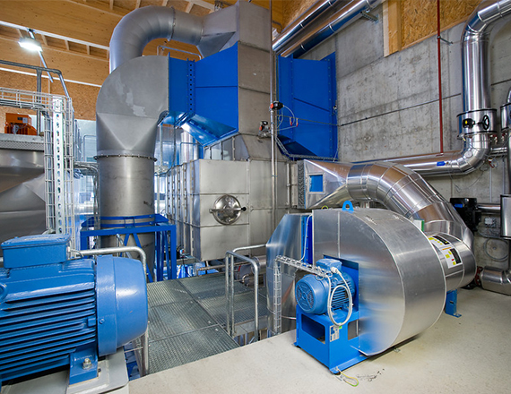 Scheuch heat recovery and condensation technology