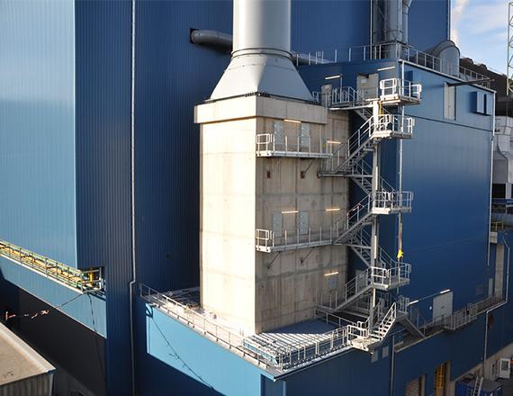 Scheuch hot gas filter and emc technology