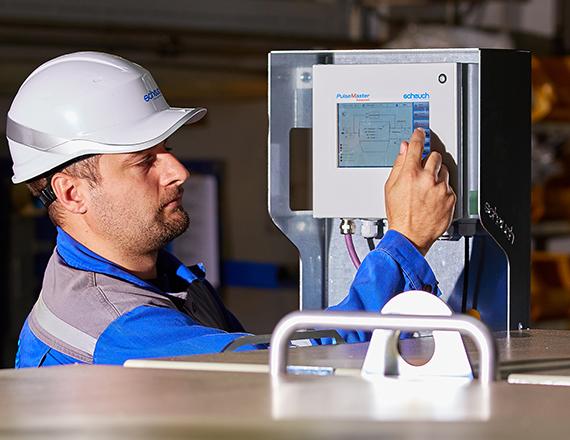 Scheuch pulsemaster advanced control unit