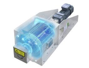Scheuch rotary valve airlock