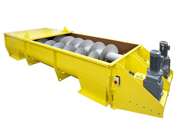 Scheuch twin/double screw conveyor