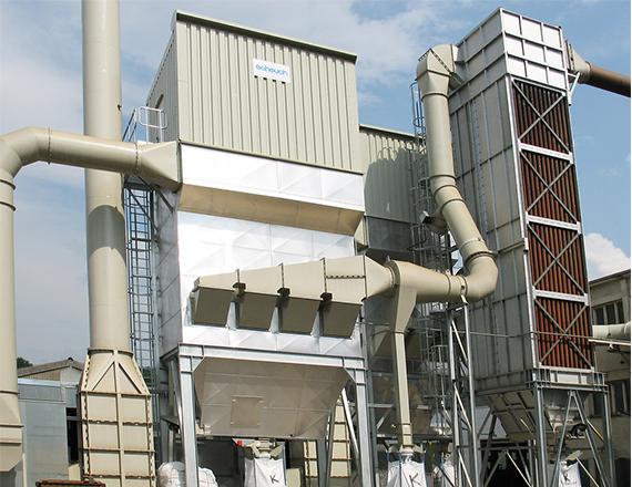 Scheuch air tube cooler technology