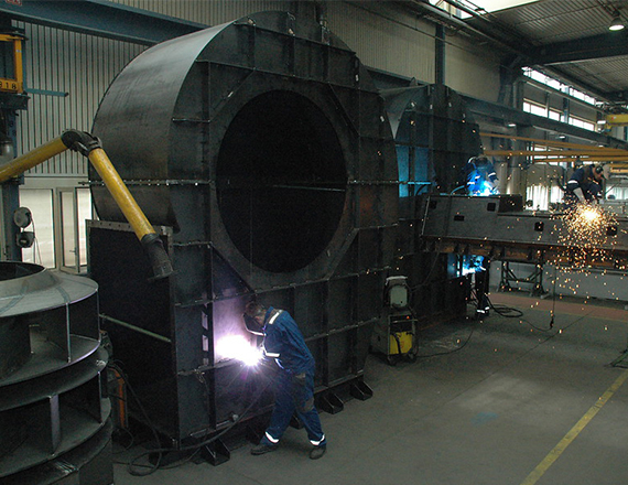 Scheuch Fan Prefabrication